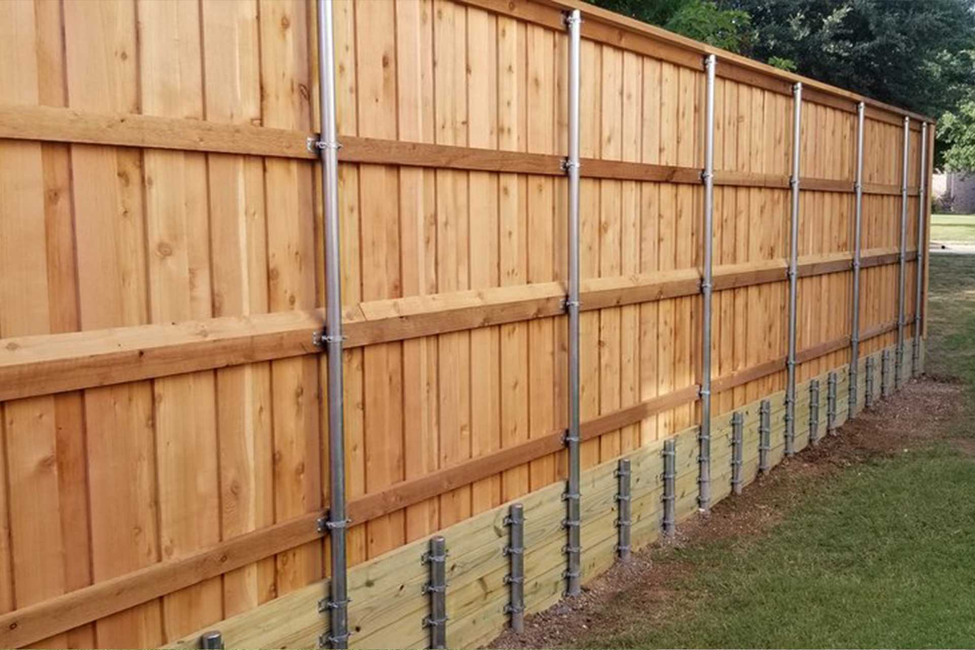 wood-retaining